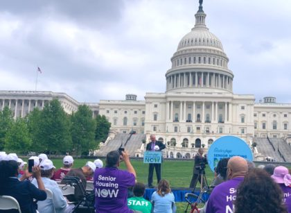 Over 1,000 Rally at U.S. Capitol for Affordable Senior Housing