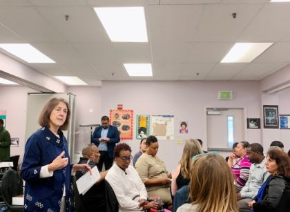 Homeward Bound: Work Session Convenes on Seeking Solutions to Elder Homelessness